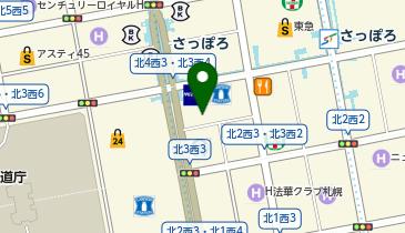 みずほ信託銀行札幌支店の地図画像