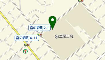 北海道室蘭工業高校の地図画像