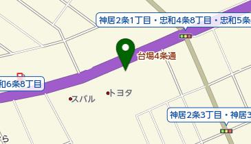 旭川日産神居本店の地図画像