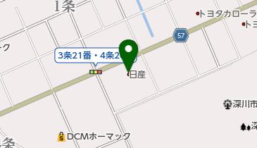 旭川日産深川店の地図画像