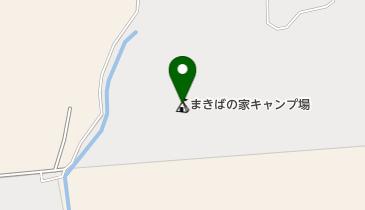 まきばの家キャンプ場の地図画像