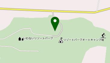 いわないリゾートパークオートキャンプ場マリンビューの地図画像