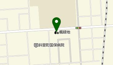 楓緑地の地図画像