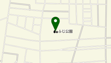 ふじ公園の地図画像