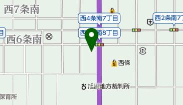リサイクルマート名寄店の地図画像