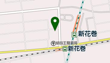 トヨタレンタリース岩手新花巻駅西口店の地図画像