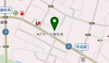 ヴィクトリアゴルフ仙台泉中央店の地図画像