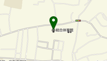 石巻市総合体育館の地図画像