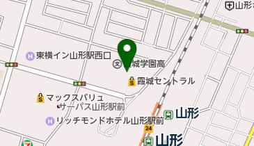 霞城セントラルの地図画像