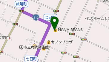 NANA-BEANSの地図画像