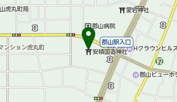 安積国造神社の地図画像