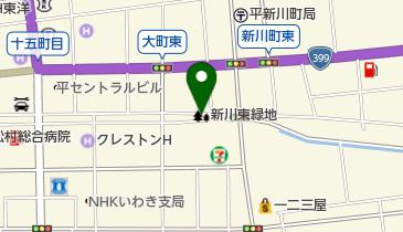新川東緑地の地図画像