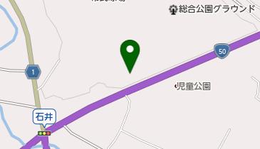 笠間市総合公園駐車場の地図画像