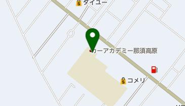カーアカデミー那須高原の地図画像