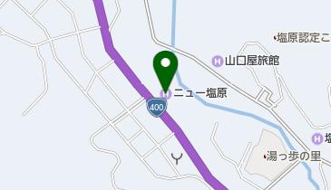 塩原温泉の地図画像
