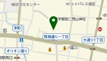 二荒山神社鳥居の地図画像