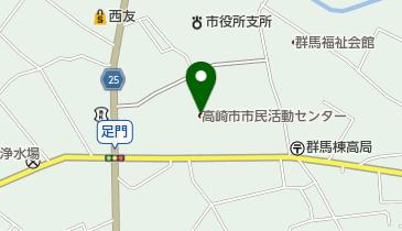 高崎市市民活動センターの地図画像