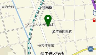 さいたま地方法務局の地図画像