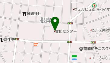 さいたま市文化センターの地図画像