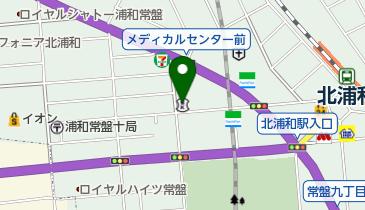 川口信用金庫北浦和支店の地図画像