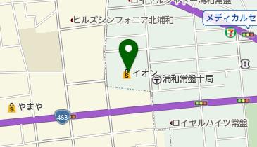 コナミスポーツクラブ北浦和の地図画像