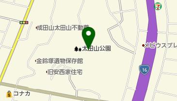 金鈴まつりの地図画像
