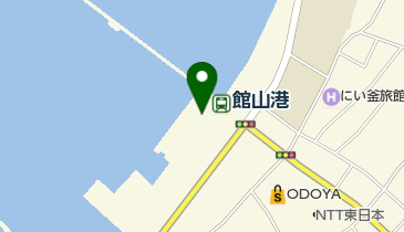 渚の駅たてやまの地図画像