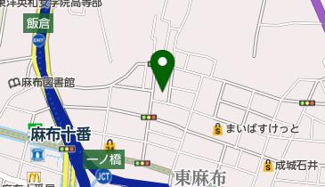 東京法務局港出張所の地図画像