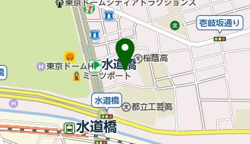 宝生能楽堂の地図画像