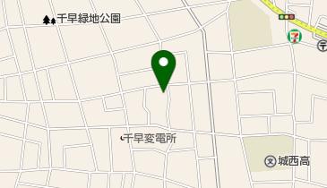 我楽多文庫の地図画像