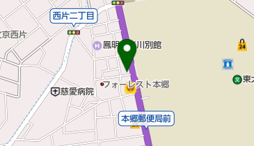 棚沢書店の地図画像