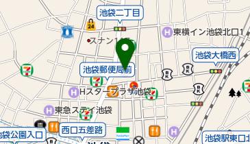 池袋ロイヤルホテルの地図画像