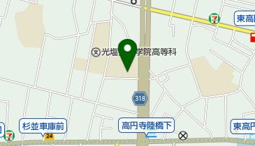 高円寺体育館の地図画像