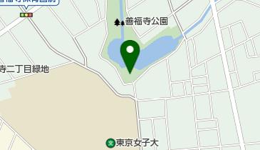 善福寺公園ゲートボール場の地図画像