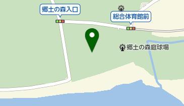 郷土の森第一野球場の地図画像