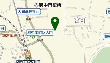 大國魂神社例大祭の地図画像
