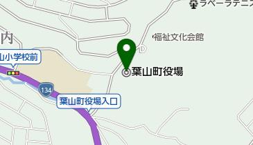 葉山町役場の地図画像