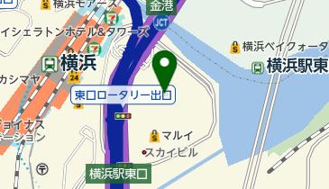新都市ホールの地図画像