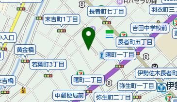 ピアゴイセザキ店の地図画像