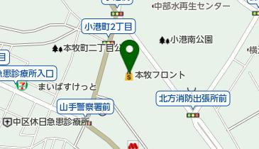sanwa本牧店の地図画像