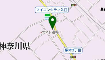 道とん堀栗木店の地図画像