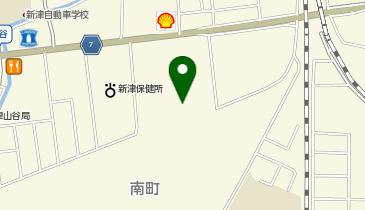 イオンスタイル新津の地図画像