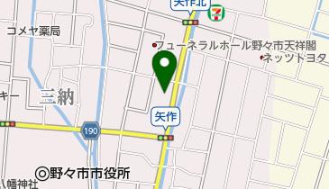 コメダ珈琲店野々市矢作店の地図画像