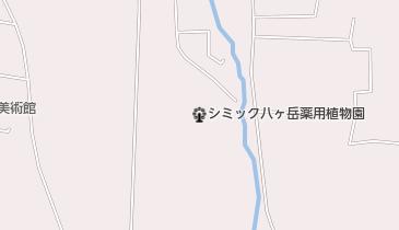 東御市梅野記念絵画館・ふれあい館の地図画像