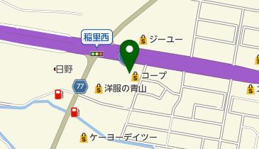 コープ長野稲里店の地図画像