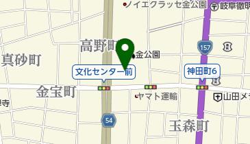 岐阜市文化センターの地図画像