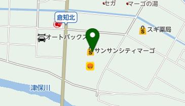リンガーハット関マーゴ店の地図画像