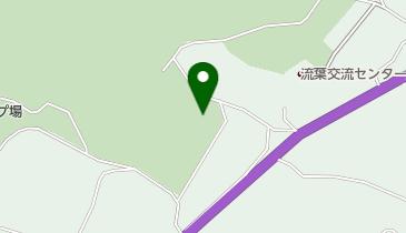 流葉山荘の地図画像