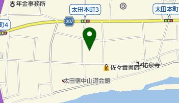 御代桜醸造(株)の地図画像