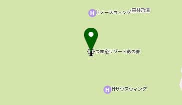 つま恋リゾート彩の郷の地図画像